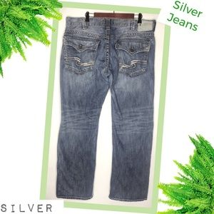 "SILVER JEANS ""Gordie Flap"" Jeans 40/34"